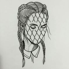 Boxer braids fishnet tattoo – – Graffiti World Baby Girl Drawing, Girl Drawing Sketches, Sketch Art, Tattoo Sketches, Tattoo Drawings, Art Drawings, Drawing Eyes, Graffiti Art, Graffiti Tattoo