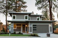 Usonian home - inspired by Frank Lloyd Wright. Modern finishes