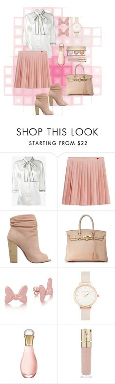 """Bow"" by danilicious86 ❤ liked on Polyvore featuring Dolce&Gabbana, Kristin Cavallari, Hermès, Disney, Olivia Burton, Christian Dior and Smith & Cult"