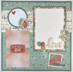 Do All Things in Love - Scrapbook.com