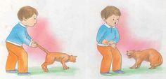 Molestar a los animales....situaciones peligrosas para niños