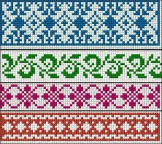 Fair isle. The second and/or third rows from the top might be good in the royal alpaca sweater.