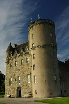 Castle Fraser, Aberdeenshire. This Castle is in my family. My grandfather was Alexander Fraser. My family is from here and of royal line to Simon Fraser