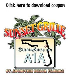 Our Favorite Restaurant on St. Augustine Beach - Sunset Grille