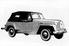 """Willys-Overland """"Jeep"""" Jeepster: 1948-1951"""