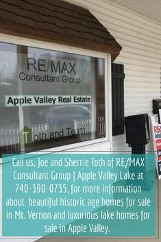 Call us, Joe and Sherrie Toth of RE/MAX Consultant Group | Apple Valley Lake at 740-390-0735, for more information about  beautiful historic age homes for sale in Mt. Vernon and luxurious lake homes for sale in Apple Valley. Apple Valley Ohio, What Is Apple, Ohio Real Estate, Waterfront Homes For Sale, Antebellum Homes, Victorian Interiors, Old Mansions, Unusual Homes, Old Farm Houses