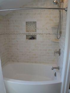 Tiles In Bathtub Surround U2013 Bathrooms Forum U2013 GardenWeb Tiled Tub Surround