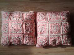 Háčkované vankúše U Danky Throw Pillows, Bed, Toss Pillows, Cushions, Stream Bed, Decorative Pillows, Beds, Decor Pillows, Scatter Cushions