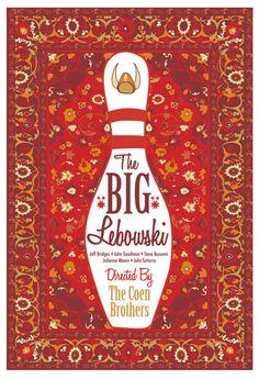 The Big Lebowski by Cutestreak Designs