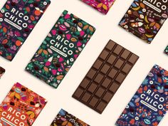 Rico Chico - A Chocolit Land on Packaging of the World - Creative Package Design Gallery