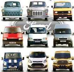 Ford Lieferwagen - Myth of World Classic Cars British, Ford Classic Cars, Best Classic Cars, Classic Trucks, Vans Classic, Ford Excursion, Car Ford, Ford Trucks, Ford Transit Custom Camper