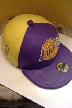 Laker Hat Cake