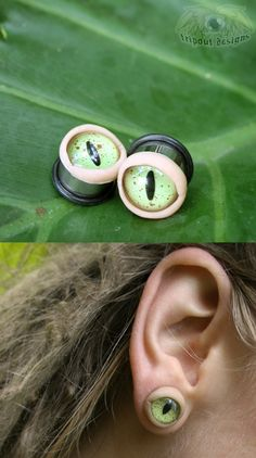 Eye Plugs - https://www.facebook.com/EyehuascaDesigns