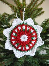 free crochet christmas ornament pattern teresa restegui httpwwwpinterest