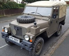 Military history record sheet present. Correct military and chassis plates are all present. Very Original Solid Example with MOT. Body work is good for its age. My Dream Car, Dream Cars, Land Rover Series 3, Land Rovers, Range Rover, Military History, Military Vehicles, Landing, Jeep