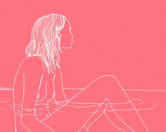 a lovely, delicate, feminine style of drawing and illustration