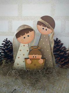 Navidad Pinterest Christmas Crafts, Christmas Wood Crafts, Nativity Crafts, Christmas Nativity, Christmas Signs, Christmas Love, Rustic Christmas, Winter Christmas, Holiday Crafts