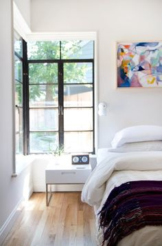 Bedroom Inspiration | White Interior | Isaac Wall Sconce
