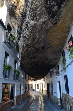 Setenil de las Bodegas, Cadiz, Spain.