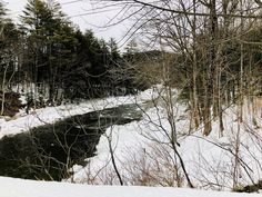 Black River. Weathersfield, Vermont. Paul Chandler February 2018.