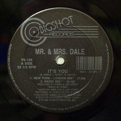Mr & Mrs Dale It's You #FAGO #fagostore #mrmrsdale #techno #house #electro #bigshot #records #newyork #london #komix #andrewkomis #lenbrant #boilerroom #fabric #berghain #berghain #berlin #remix #online #vinyl #store #rarerecords #12inch #dj #nowspinning by fagostore