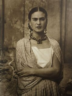 Frida/©️️Guillermo Kahlo/Wikicommons