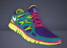 I actually designed some like this on NikeID.com! Crazy someone else's are similar!
