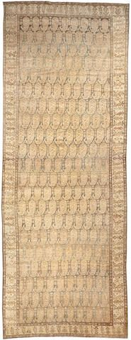 Malayer long carpet  Central Persia  circa 1920  size approximately 7ft. x 18ft. 8in.