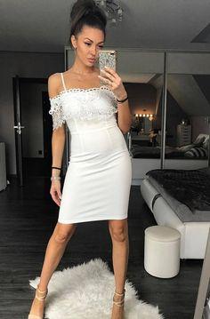 EMAMODA dress- WHITE 42008-2