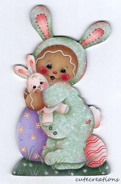 HP GINGERBREAD Bunny FRIDGE MAGNET  | eBay