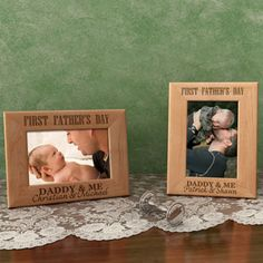 Cutest 1st Father's Day Idea!