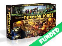 Kickstarter - Dungeon Lords Anniversary