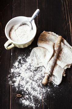 Baking with Flour. Farina | Flickr - Photo Sharing!