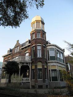 Villa Putruwiel, Nieuwe Parklaan 17 in Den Haag, 1905