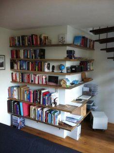Steigerhout boekenkast basic verkrijgbaar bij www for Boekenkast steigerhout