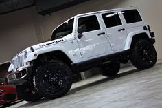 Jeep Wrangler Unlimited Rubicon White