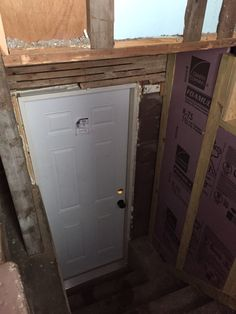 New Basement Door