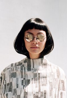 MYKITA frame BUENO in ALL THE WILD THINGS, the MYKITA campaign 2017 by Mark Borthwick. https://mykita.com/en/sunglasses#layer:/en/sunglasses/metal,/en/sunglasses/decades-sun/bueno