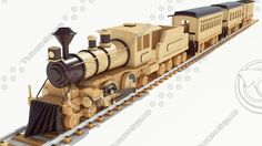 wood toy trains - Google Search