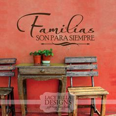 """""""Familias Son Para Siempre"""" www.lacybella.com Lacy Bella 
