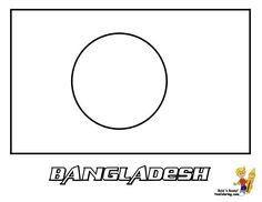 Print Out This International Flag Of Bangladesh Coloring Page YesColoring Is Your World Flags
