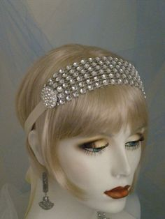 1920 make your own headband to be a flapper - Google Search