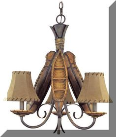 246 best lodge style lighting images on pinterest chandelier found it at wayfair pacific coast lighting 3 light old river canoe chandelier aloadofball Image collections