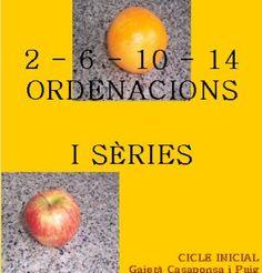 zonaClic - activitats - Ordenacions i sèries