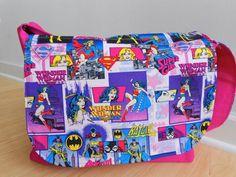 Wonder Woman Diaper Bag January 2017