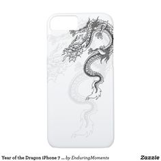 Shop Year of the Dragon iPhone 7 Case created by EnduringMoments. Iphone 7 Cases, Samsung Cases, Iphone 8, Apple Iphone, Year Of The Dragon, Birth Year, Elephant Gifts, 6 Case, Holiday Cards