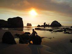 Reflect. Sand Dollar Beach #bigsur  #travelphotography  #wanderlust  #sunset #bigsurlocals #montereybaylocals - posted by Megan Garza https://www.instagram.com/hopefulmeg - See more of Big Sur at http://bigsurlocals.com