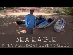 Sea Eagle makes a great product and we've been able to paddle several of their boats over the last few years. If you're looking for an inflatable boat this i. Inflatable Kayak, Teardrop Trailer, Buyers Guide, Kayaks, Paddle, Trailers, Sea, Explore, Youtube