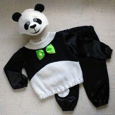 Купить Панда новогодний детский красивый костюм мишки для мальчика в интернет магазине на Ярмарке Мастеров