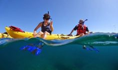Groupon - 3.5 to 4-Hour Kayak/Snorkel Tours for 2 or 4 with Maui Adventure Tours (Up to34% Off) in Lahaina. Groupon deal price: $105